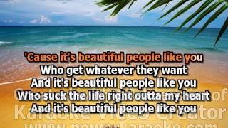 Beautiful People Cher Lloyd Karaoke