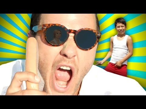 "psy - ""gangnam style"" (강남스타일) parody - english..."