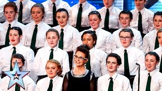 Presentation School Choir strike a chord | Week 3 Auditions | Britain's Got Talent 2016