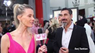 "Serj Tankian lead singer of 'System of a Down' at ""THE PROMISE"" red carpet"