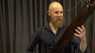 Simon Rickard and his Bassoon-osaurus