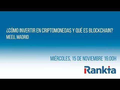 ¿Cómo invertir en criptomonedas y qué es Blockchain? - Streaming
