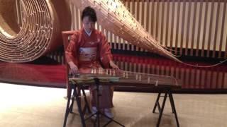 Japanese Koto (harp) performance