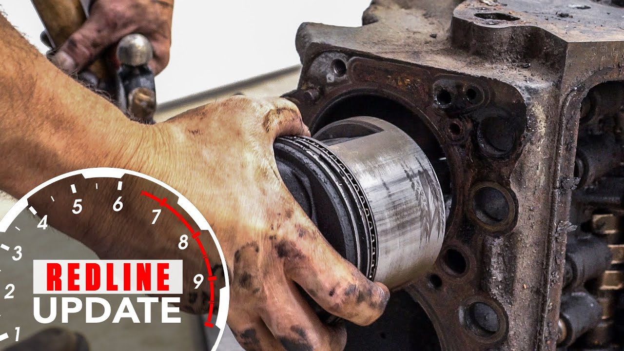 Hammering pistons out of a Buick Nailhead—again