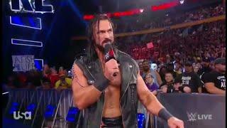 Drew McIntyre Entrance - Raw: July 16. 2018
