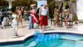 Pepo at the pool - hot video