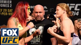 Cris Cyborg vs. Tonya Evinger | Weigh-In | UFC 214