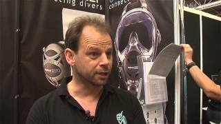 Scubaverse talks with Craig from Hydroactive about the Ocean Reef full face mask at DIVE 2014