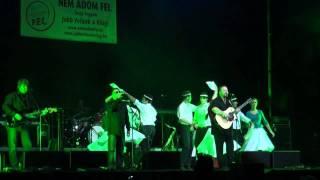 Andiék tánca az Ismerős Arcok zenéjére a Jobb velünk a világ koncerten - 2011.