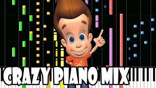 Crazy Piano Mix! JIMMY NEUTRON Theme
