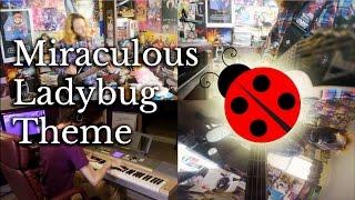 """It's Ladybug!""   Miraculous Ladybug Theme (band cover)"
