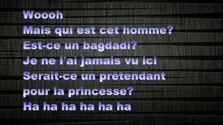 Black M - Le Prince Alladin feat Kev Adams (paroles).