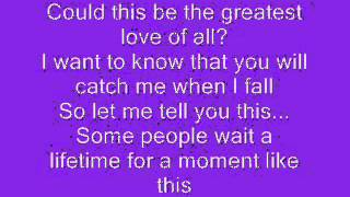 Kelly clarkson  a moment like this lyrics
