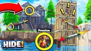 *NEW* GUIDED MISSILE HIDE & SEEK! Custom Gamemode in Fortnite Playground Mode!