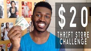$20 Thrift Store Challenge | Calil Davis