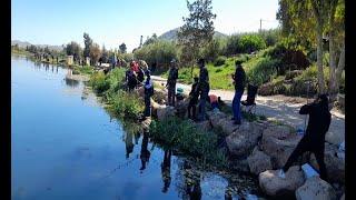 65 pêcheurs participent à la clôture de la saison de pêche à la truite à Amghass dans l'Atlas