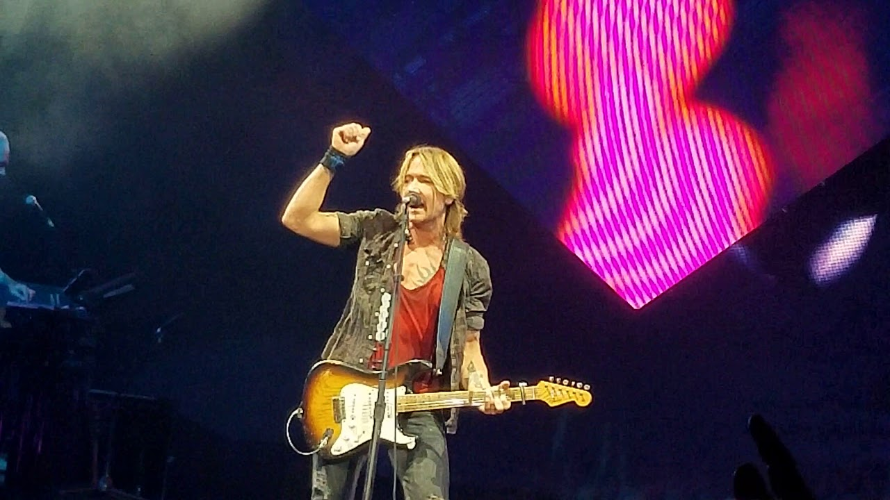 Stubhub Keith Urban Graffiti U World Tour Edmonton Ab