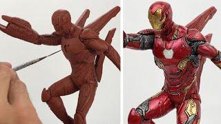 Sculpting IRON MAN | Avengers Infinity War - [100K SPECIAL]