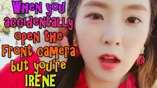 Red Velvet Irene Front Camera Compilation | 레드벨벳 아이린 셀프카메라 (Selfcam)