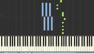 Tribo da Periferia part Hungria Hip Hop - Insônia ( tutorial Piano / Teclado )
