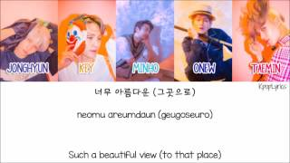 Shinee -View [Eng/Rom/Han] Picture + Color Coded HD