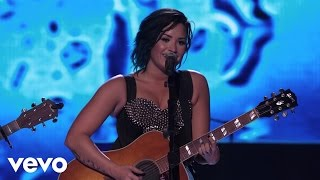 Demi Lovato - Don't Forget / Catch Me (Acoustic Medley) (Vevo Certified SuperFanFest) width=