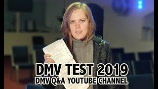 2019 DMV WRITTEN TEST (EXAM)  [INTRODUCTION]