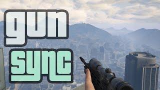GTA V GUN SYNC Indonesia - Paul Flint Savage