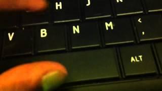 Sound of keys on a keyboard