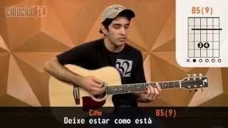 Videoaula Zóio de Lula (aula de violão simplificada)