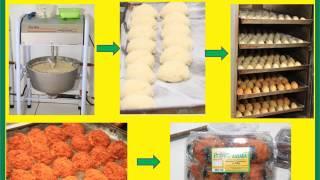 Produção de cocada gostosinha