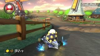 Wii Moo Moo Meadows - 1:21.532 - Kasper (Mario Kart 8 World Record)