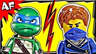 Ninjago JAY vs LEONARDO TMNT - Lego Crossover Tournament #7