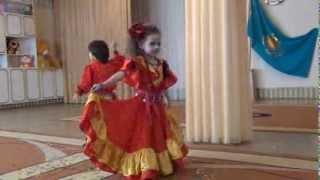 Цыганский танец Дану данай г.Павлодар д/сад№115