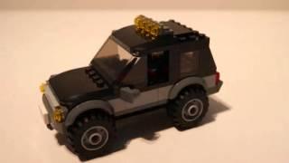 Lego City 2014 - #60058 Stadsjeep med vattenskoter!