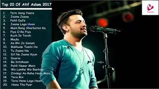 Best of Atif Aslam   Top 20 Songs   Jukebox 2018 width=