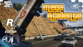 Mega Acidente - GTA V Machinima - Editor Rockstar - PS4 - FBN games