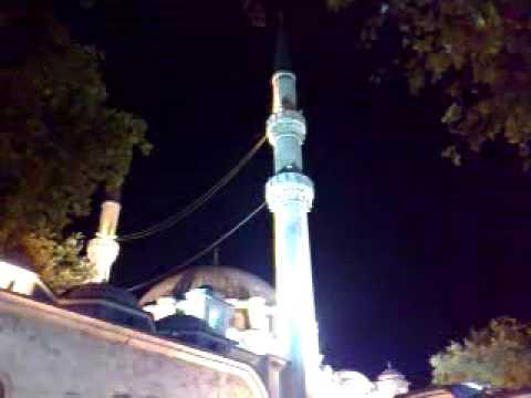 Aziz Hardal Yatsı Ezanı Eyüp Sultan Camii