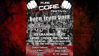 Pure Core Fest 2015 by ASOM with Born From Pain