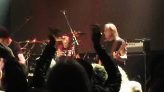 Phil Rudd - Shot Down in Flames (AC/DC song; Praha 2017)