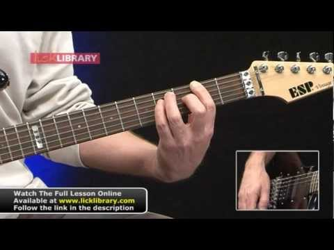 The Final Countdown Guitar Lesson Intro With Danny Gill