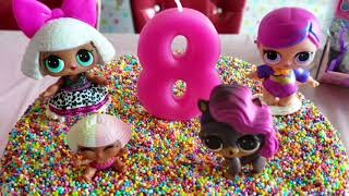 LOL Surprise Themed Birthday Party Decorations and Cake! So cute!