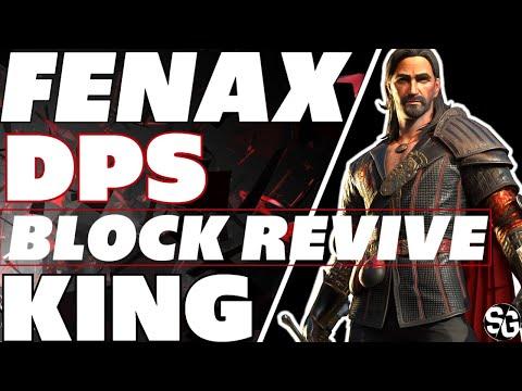 Fenax DPS block revive KING Raid Shadow Legends Fenax guide fenax showcase fenax FW 21