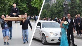 Абитуриент пристигна с летящо килимче, принцеса с лимузина на бала