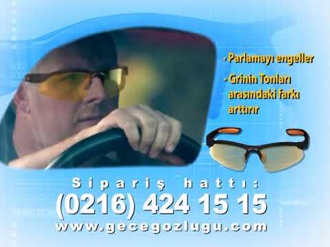 Heider HB1 HB2 Anti Glare Gece Sürüş Gözlüğü.mpg