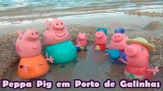 Peppa Pig na praia #PeppaPig #EuamoaPeppaPig  #PeppaPig #GeorgePig #TiaCris