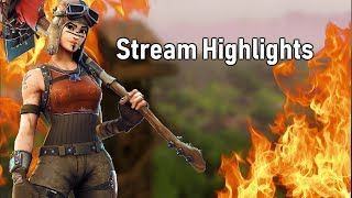 Stream Highlights #1 | Fortnite Battle Royale!