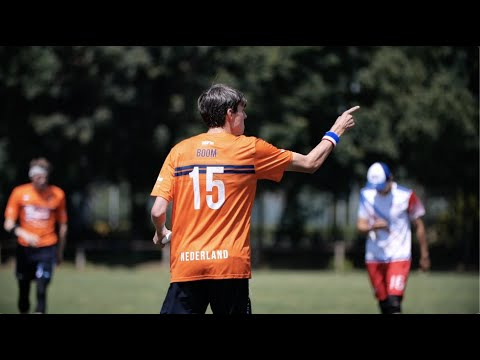 Video Thumbnail: 2019 WFDF World U-24 Championships: USA vs. NED Mixed Highlights