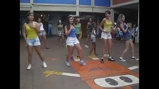 Coreografia Eu te amo meu Brasil