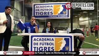 Academia Oficial del Club Tigres de Monterrey en Chicago